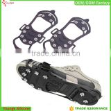 Cheap slip resistant shoes ice shoes spikes best ice cleats silicone ice crampons in Winter