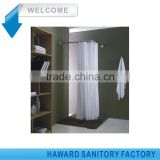 Easy Installation Metal Corner Shower U Shaped Rod