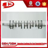 new excavator parts engine parts crankshaft for 6D110
