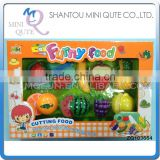 MINI QUTE Pretend Preschool Funny cutting food fruit Vegetable kitchen play house set learning educational toys NO.ZQ103664