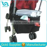 Quality Polyester Crib Diaper Bag Buggy Baby Diaper Bag Organizer Stroller Cooler