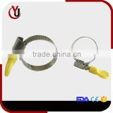 hose clamp with plastic handle Germany type                                                                                                         Supplier's Choice