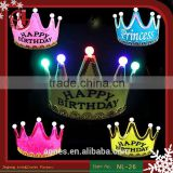 Led Tiara Headband ,LED King Crown For Party Decoration