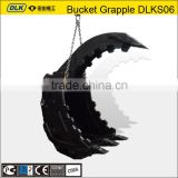 excavator grab bucket, excavator thumbs for BOBCAT excavator
