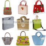Cute fashion Designer felt tote bag/Wool Felt Bag                                                                         Quality Choice