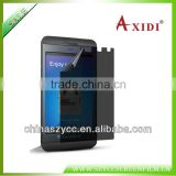 Factory Manufacture For Blackberry Z10 Privacy Screen Guard For Blackberry9788