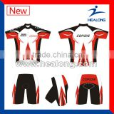 High Quality Custom Breathable Cycling Bike Jersey Uniform Design
