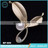 Yiwu Wholesale Market Pearl Jewelry Custom Brooch Korea Brooch