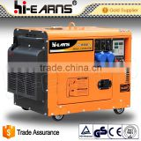 6KW diesel generator with Digital control panel model silent 8kva silent diesel generator                                                                         Quality Choice