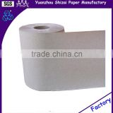 Eco-friendly non-bleached Recycled paper hand roll towel brown