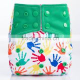 New Arrival Printed Wholesale AIO Modern Cloth Diaper nappies                                                                         Quality Choice