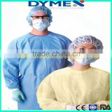 High quality SMS Medical Disposable Nonwoven Surgical Gown