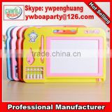 Cheering children drawing writing board widely used kids magnetic writing board