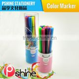 School Suppiler 24 Colors water based ink double tips water color pen