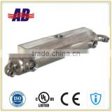 Titanium Marine Oil Cooler for marine diesel engine with additional oil tank