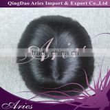 Custom made Mens toupee Hair replacement Super silk with bleached knots front Hairpiece Hair system Men's wig