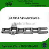 agricultural chain 38.4VB with K1 attachments each 4 or 6 links both side- use for CLASS combine harvest machine.