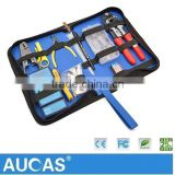 Professional Network Tool Kit With Stripper Tool,Cable Tester ,Plier For Network Cable Hot Sell