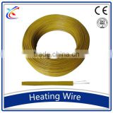 Yellow FEP insulation Nichrome electric heating wire