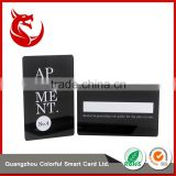 Top grade standard size business full pvc magnetic card printing plastic cards