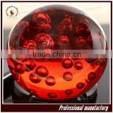 Hand Blown red Glass crystal Balls for gift                                                                         Quality Choice