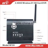 Mini wireless cctv dvr for home security, W720