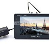 Newest High quality 4.3inch Android system 4X ZOOM GPS G-sensor wifi car double view parking system