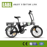 pedal assist electric bicycle