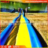hot sale inflatable Turbo Chute Lake Water Slide/ inflatable slip n slide for kids and adults
