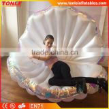 Hot sale inflatable seashell float for fun