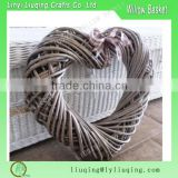 Wholesale wicker hearts for festival decoration