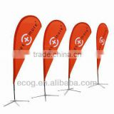 Portable advertising ourdoor custom bicycle flags                                                                                                         Supplier's Choice
