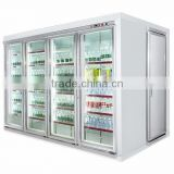 Commercial coolers refrigerator chiller cold storage room walk-in cooler and display walk-in freezer