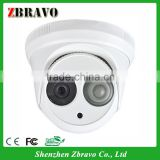 6mm Megapixel CS Lens Dot Matrix Dome Camera CMOS 550TVL With 1pc Array Led 30M IR CCTV Camera