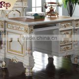 Factory Direct Sales europe royal Luxury Study Chairs Tables Wooden Furniture home study desk