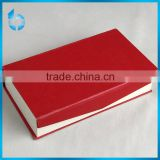 Available folding paper box with a magnet on the both sides of openging for top-end necklace