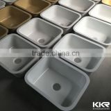 solid surface kitchen sinks, acrylic resin stone kitchen sink                                                                         Quality Choice