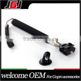 JGJ OEM For GoPro HERO 3, 3+, 4 Extendable Handheld Monopod Selfie Stick with Mount Adapter