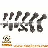 Excavator Plow Bolt and Nut for Construction Machinery Parts 5P8361/3K9770,6V8360/3K9770 etc.