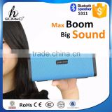 2015 new product wireless bluetooth boom box speaker, bluetooth portable magnetic speakers with NFC