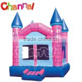 Hot sale and durable material commercial mini inflatable pink bouncer