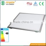 Shenzhen custom advertising cheap rgb slim dimmable waterproof indoor surface mounted ceiling led square panel light 600x600