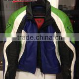 leather motor bike Racing jacket leather For men