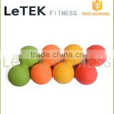 TPE Double Lacrosse Ball Peanut Massage Ball for Thoracic Spine - Upper Back, Neck, Scapula - Ideal for Mobility Work