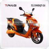 made in China electric motorcycle tailg scooter moped with pedals steel eec pedelec for sales TL1500DQT-EA