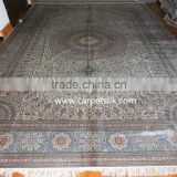 persian silk carpet handknotted handmade chinese light color belgium iranian silk carpet factory in guangzhou