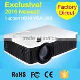 Best SD50 1500Lumens Led lamp 800*480 HD Projector LCD Projectors Beamer with USB HDMI VGA for home theater