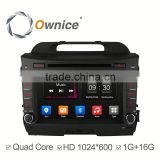 Ownice car stereo for Kia Sportage R 2010 2011 with mp3 player gps audio rds bluetooth multimedia car radio DAB
