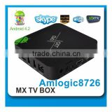 Full HD 1080p android tv box dvb t2 MVC 3D video decoding built in DVB-T/T2/S2/ISDB-T optional HD tuner support PVR miracast