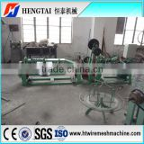new technology plant equipment Double stranded hot dip barbed wire machine or security wire machine